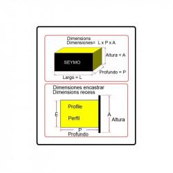 Panel-Voltmeter / Amperemeter 50 A