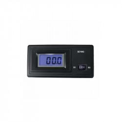 Ammeter 50 A positive measurement