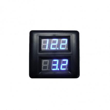 Panel superficie 3 voltimetros