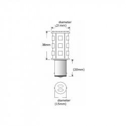 Panel 3 pompe de cale avec le niveau d'alarme